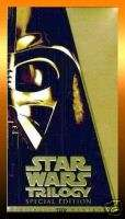 STAR WARS TRILOGY Special Gold Edition 1997 VHS BOX SET