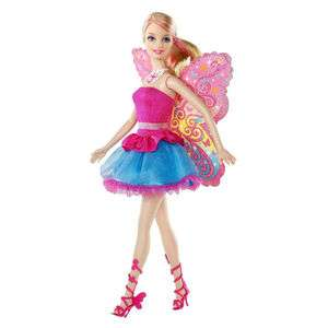 Barbie Fairy Secret Doll Blonde Hair Wings Toy NEW