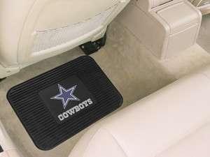 Football Heavy Duty Rubber Utility car FLOOR MATS x2   DALLAS COWBOYS