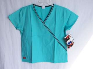 NWT Dickies HIP FLIP Mini Mock Wrap Scrub Top 13202