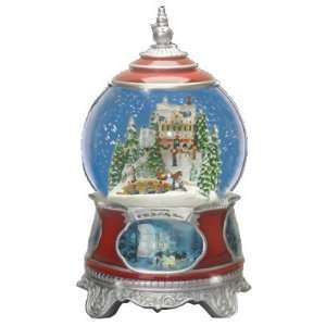 Thomas Kinkade Wish You A Merry Christmas Snow Globe