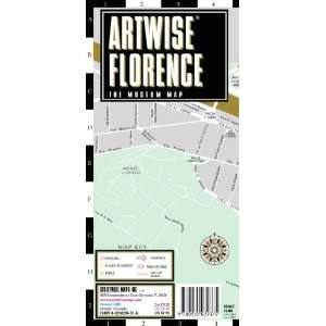 Florence Museum Map   Laminated Museum Map of Florence, Italy [Map