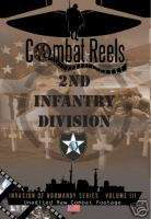 2nd Infantry Division Combat DVD Normandy Series WWII