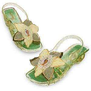 PRINCESS TIANA LIGHT UP DRESS SHOES 9/10 DISNEY NEW