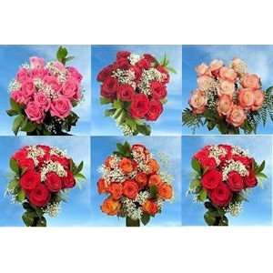 Best Price 3 Dozen Red Roses & 3 Dozen Assorted Color Roses 72 Roses