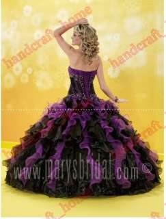 Formal dress Quinceanera gowns Prom ball dresses all size