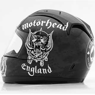 Rockhard Street Full Face Helmets Motorhead Motorizer Medium M