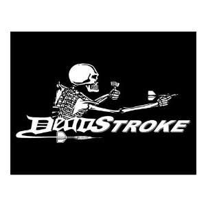 Players Brand Dead Stroke T Shirt (Dart Logo): Sports & Outdoors