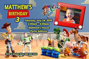 Toy Story Personalized Birthday Invitations & Party Favors