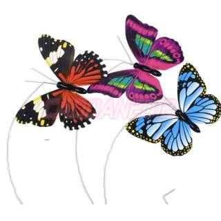 New Mini Solar Powered Flying Butterfly LED Light