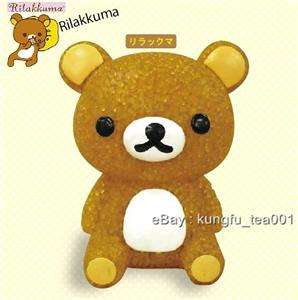 SanX Rilakkuma Relax Bear Color Change Led Light Figure  JAPAN