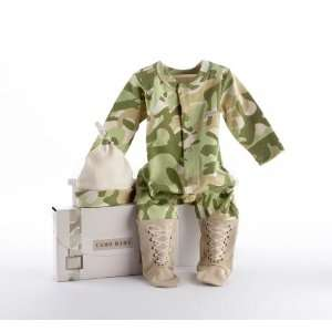 Baby Aspen   Big Dreamzzz Baby Camo Two Piece Layette Set