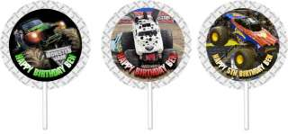 Monster Truck Jam Birthday Party Invitations & Favors