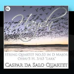 Haydn String Quartet No.53 in D Major Op.64/5 H. 3/63 Lark