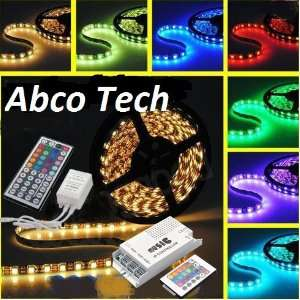 Abco Tech Flexible Color Changing RGB Ribbon + Abco Tech