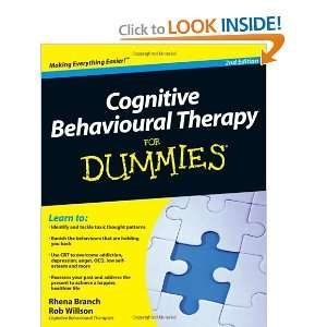 Cognitive Behavioural Therapy For Dummies (9780470665411