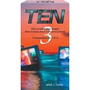 Ten   Commandments 6 & 5 [VHS] Movies & TV
