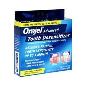 : Orajel Tooth Desensitizer Treatment   1 kit: Health & Personal Care