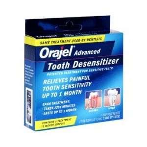 : Orajel Tooth Desensitizer Treatment   1 kit: Health & Personal Care