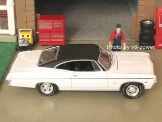 1968 CHEVY IMPALA Sport Coupe, Opening Hood, RRs, 1:64 Diecast, Set