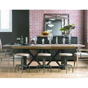 Universal Furniture Forecast Village Rectangular Trestle Dining Table