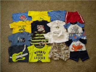 HUGE lot baby boy summer clothes 12 18 months. Gymboree, OshKosh, John
