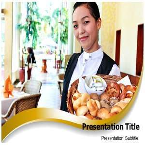 Hospitality Industries PowerPoint Template   Hospitality Industries