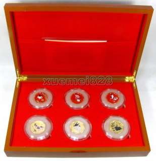 Rare Chinese Year of the Rabbit Gold and Jade Coins Set