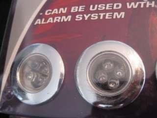 NEW RED LED STEP LIGHTS 4 PACK CAR TRUCK SUV LIGHT KIT