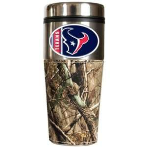 Houston Texans Realtree Camo Travel Coffee Mug Sports