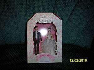 Barbie and Ken Wedding Day Hallmark Ornament NIB