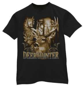 White tailed Deer Hunter Buck Hunting tshirt Tee shirt