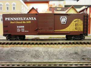 Line O Scale Pennsylvania Rail Road Boxcar New in Box
