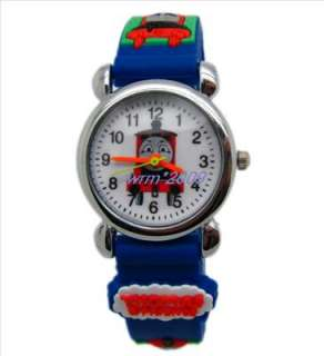Free ship 1pcs Thomas and Friends kids watch,Xmas Gift