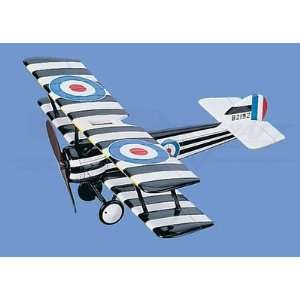 Sopwith Pup Aircraft Model Mahogany Display Model / Toy. Scale 1/20
