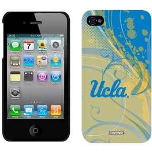 NCAA UCLA Bruins Swirl iPhone 4 Case