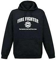 Firefighter Fire Fighter funny Hoodie Hooded sweatshirt