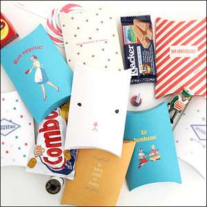 Pack (Small)eautiful Sweet Gift Paper Bags_Cookies/Candy/Small
