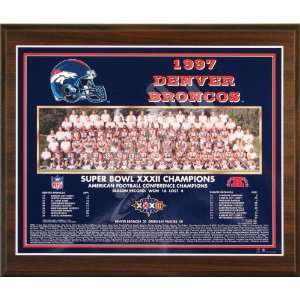 1997 Denver Broncos NFL Football Super Bowl 32 XXXII Championship