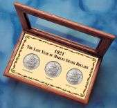 1921 Last Year Morgan Silver Dollar Mint Mark Set  Overstock