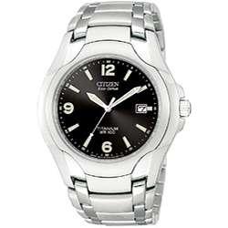 Citizen Eco Drive Mens Titanium Bracelet Watch