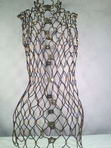 Rare~Flexible Adjustable~Wire~Dress Form~Store Display~Unique~