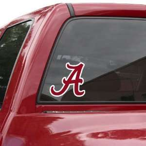 NCAA Alabama Crimson Tide 8 Color Team Logo Car Decal