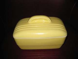VINTAGE HALL REFRIGERATOR DISH FOR WESTINGHOUSE YELLOW