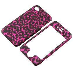 Pink Leopard Case/ Screen Protector for Apple iPhone 4S