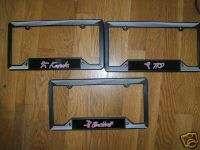 Black Belt Auto License Plate Frame Martial Arts