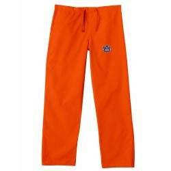 Gelscrub Unisex Orange Auburn Tiger Scrub Pants