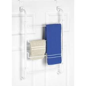 Whitmor Over The Shower Door Towel Rack Furniture