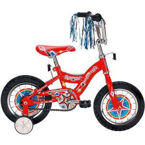 12 Micargi Kidco Boys BMX Bike, Red Bikes & Riding Toys