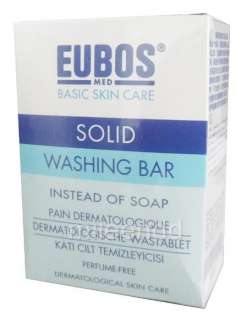EUBOS 125G SOLID WASHING BAR SOAP PERFUME FREE